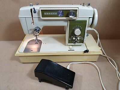 Vintage Toyota 500 Sewing Machine Made In Japan Cased Fully Working