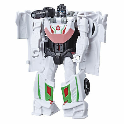 Transformers Cyberverse Action Attackers:1-Step Changer Wheeljack Action Figure