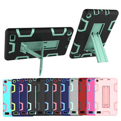 Rugged Impact Shockproof Stand Case For Amazon Kindle Fire 7 2019 9th Generation