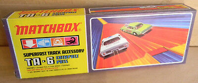 TA-6 CATAPULT PASS MATCHBOX Lesley London 1970 NEU OVP MIB Vintage Racingset