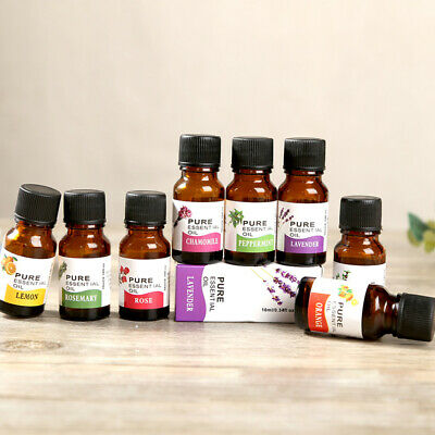 Natural10 Ml Essential Oils 100% Pure Aromatherapy Essential Oil Fragrance Aroma