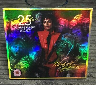 Michael Jackson : Thriller: Zombie Cover CD 25th Anniversary  Album 2 discs