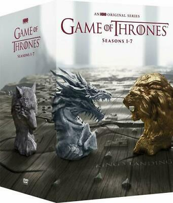 (LUP)Game of Thrones: The Complete Seasons 1-7(DVD, 2017, 42-Disc Set, Canadian)