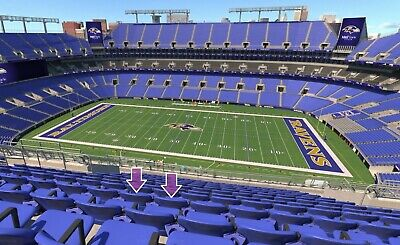 2 Ravens vs Browns e-tickets! Sec 525 Row 12 - 100% for charity (M&T 9/29)