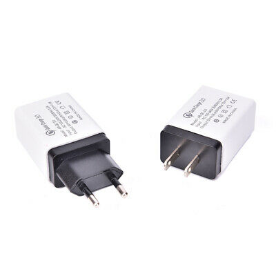 Fast Quick Charge QC 3.0 USB Wall Charger Power Adapter US EU Plug RF