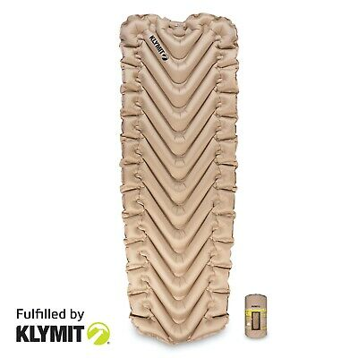 Klymit INSULATED Static V LUXE SL XL Sleeping Camping Pad | NEW FACTORY SECOND