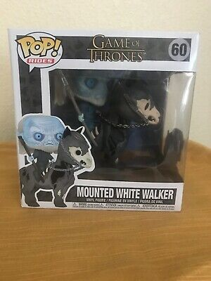Funko Pop Game of Thrones - Mounted White Walker Vinyl Horse Figure #60