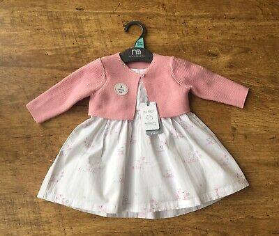 Mothercare ~ Baby Girls Dress Outfit ~ Age 0-3 Months ~ New