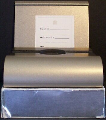 2003 CANADA RCM Metal Empty Presentation Case & Box for $200 1/2oz 22k GOLD Coin