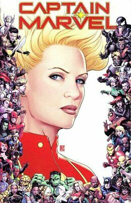 Captain Marvel #9 80Th Anniversary Cover By Marvel Comics! Fast Shipping!