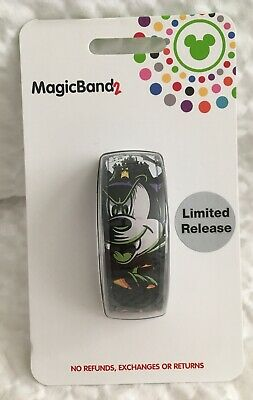 Disney Parks Halloween 2019 Vampire Mickey Mouse LE MagicBand 2 Magic Band 2 NEW