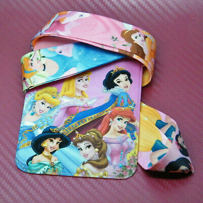 Disney Inspired Princess Characters Safety Lanyard Neck Strap ID Holder