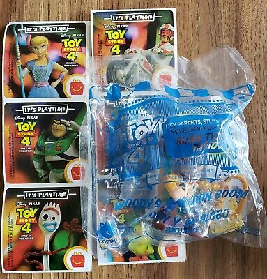 McDonalds TOY STORY 4 Woody's Balloon Boom #5 Happy Meal Toy