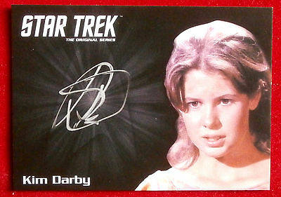 STAR TREK TOS 50th KIM DARBY as Miri, LIMITED EDITION Autograph Card Rittenhouse