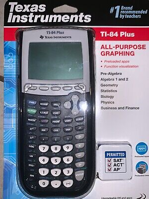 TEXAS INSTRUMENTS TI‑84 Plus Graphing Calculator Silver