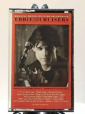 Eddie and the Cruisers~ Soundtrack Cassette Tape ~ 1983 CBS - Scotti Brothers