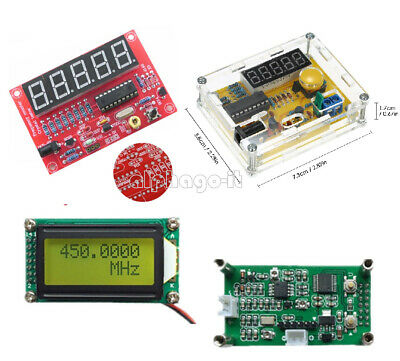 1MHz-1.1GHz 1Hz-50MHz Crystal Oscillator Tester Frequency Counter Meter