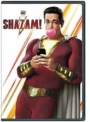 Shazam! Dvd Movie Brand New Sealed Bilingual Dc Superhero