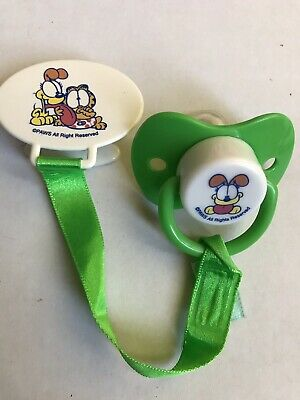 Vintage Garfield Baby Pacifier For Reborn Or Baby