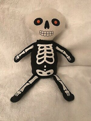 Day of the Dead Sugar Skull - Dia De Los Muertos Felt Rag Doll Shelf Sitter