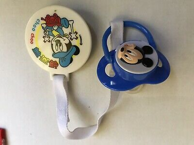 Vintage Disney Mickey Mouse Baby Pacifier/ Reborn
