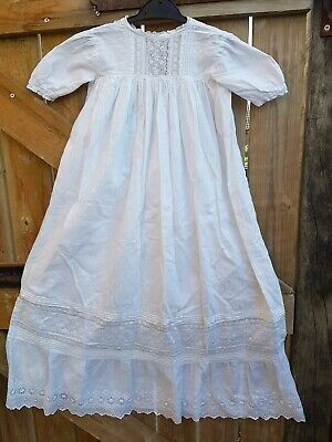 36 inch Cotton baby gown