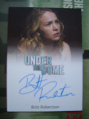 Under the Dome Britt Robertson Autograph Card as Angie McAlister