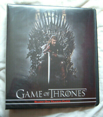 Game of thrones season 1 Official Empty Binder  (no cards)