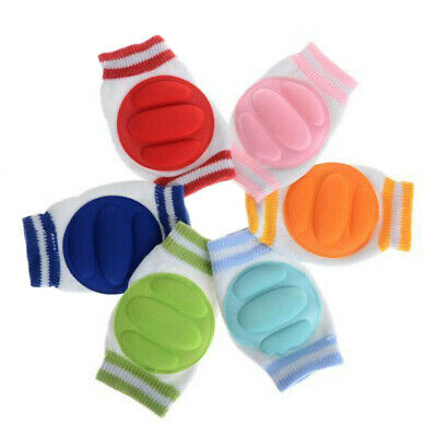 New Soft Anti-slip Baby Knee Pads Safety Infant Thick Breathable Crawli AU SHIP