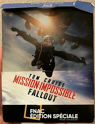 Mission Impossible Fallout - Blu ray steelbook édition spéciale Fnac