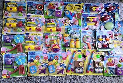 PEPPA PIG Toy bundle Childrens Boys Girls Joblot Carboot Raffle Fete Party NEW