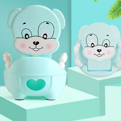 2 in 1 Kids Toilet Seat Baby Toddler Training Potty Trainers Safety Urinal Chair