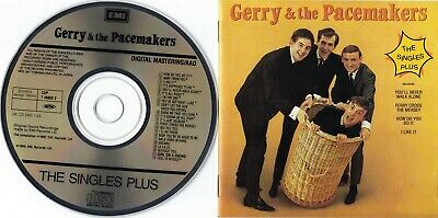 Gerry & The Pacemakers - The Singles Plus (EMI - CDP 7 46602 2) (1987)