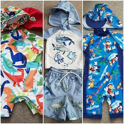 Boys Swimsuits UPF 40/50+ 12-18 months
