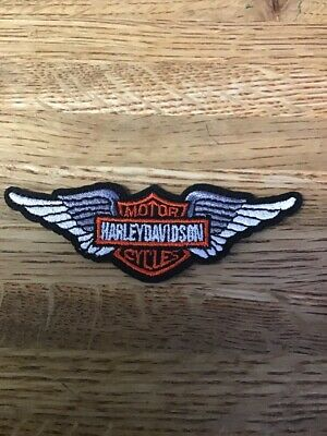 Official Harley Davidson Police Motorcycle Patch.