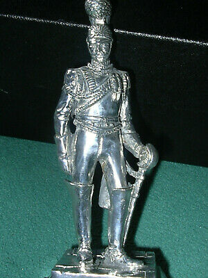 ROYAL HAMPSHIRE - 1st REGIMENT OF LIFE GUARDS 1820 SILVER PLATED PEWTER