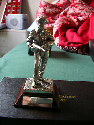 Royal Hampshire - Silver Plated Pewter Gloucestershire Regiment 1951
