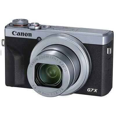Canon PowerShot G7 X Mark III 20.2MP Wi-Fi Digital Camera (Silver)