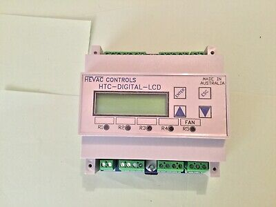Hevac Microprocessor based programmable Temperature Controller HTC-DIGITAL-LCD