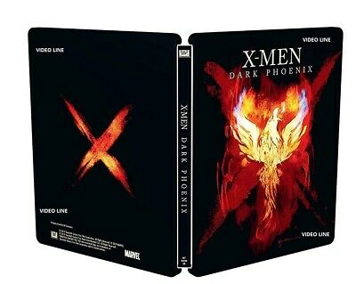 Blu Ray X-Men: Dark Phoenix: (Steelbook) .....NUOVO