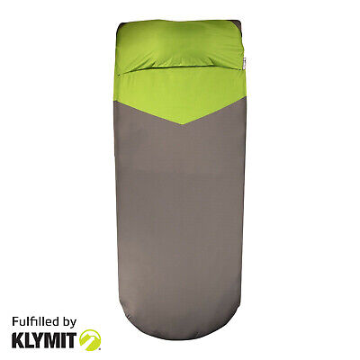 Klymit V-Sheet LUXE Camping SLEEPING PAD COVER - FACTORY REFURBISHED