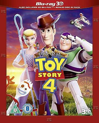 TOY STORY 4 3D + 2D Blu-ray IN STOCK NOW WITH SLIPCOVER!