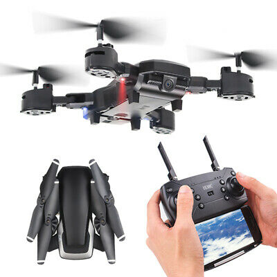 HJ28 5.0MP 1080P Camera Wifi FPV Foldable 6-Axis Gyro RC Quadcopter Drone GiftRF