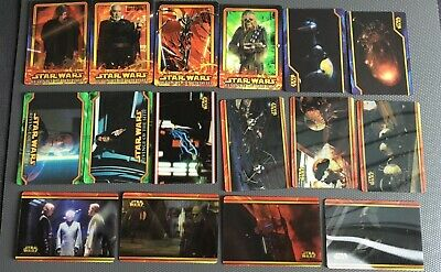 Lot 16 cartes Star Wars Flix-Pix TOPPS  Revenge of the Sith 2005 -Trading Cards