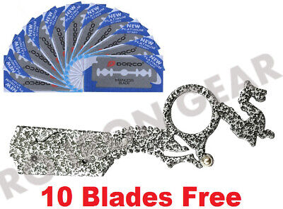 Professional Knife Razor Barber Salon Straight Cut Throat Shaving StainlessSteel