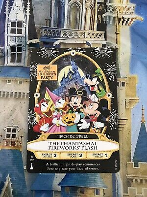 Disney Mickey's Not So Scary Halloween Party Sorcerers Of The Magic Kingdom Card