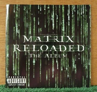 The Matrix Reloaded: The Album Original Soundtrack 2003 CD 2 CD set (CDs ONLY)