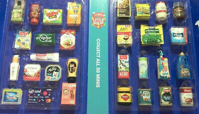 Coles Little Shop 2 Mini Collectables Choose  Your Item  Updated Dailey
