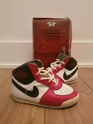 OG Original Chicago Nike Air Jordan 1 Baby Locker Box 1985 85s Sky Crib