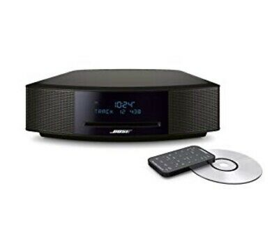 Bose Wave Music System IV with CD Player, Radio and ALEXA~Espresso Black~NEW